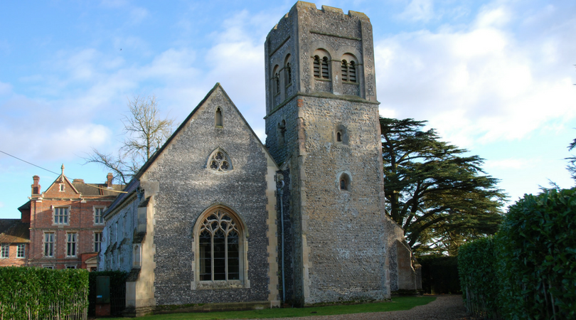 Picture of Swithin's Church in Wickham
